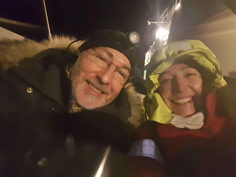 Pierre Robert de Latour et Valérie VALTON - nager avec les orques en Norvège